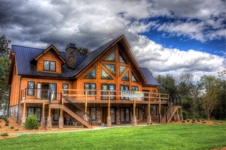 Timber Block NC model home