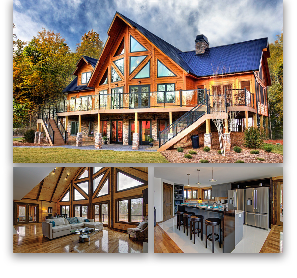 NC Timber Block Custom Denver home