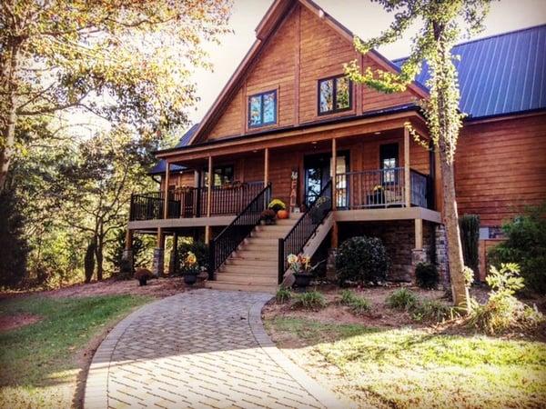 Timber Block North Carolina Wood Homes