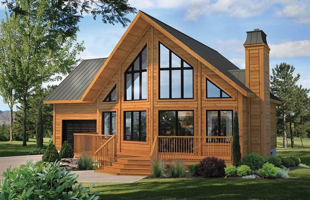 Timber Block Okanagan Model home