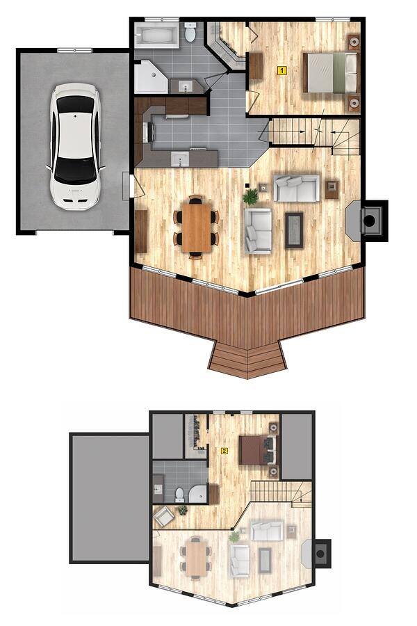 okanagan Timber Block Classic Homes