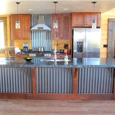 Timber Block classic kitchen