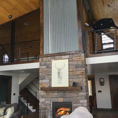 Timber Block classic interior