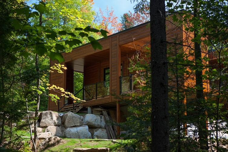Contempory Homes Timber Block
