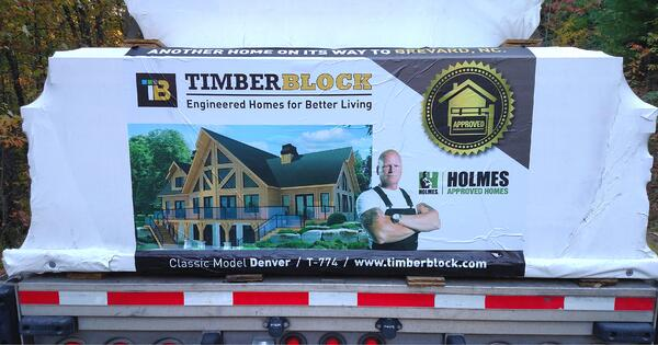 tim holmes construction truck
