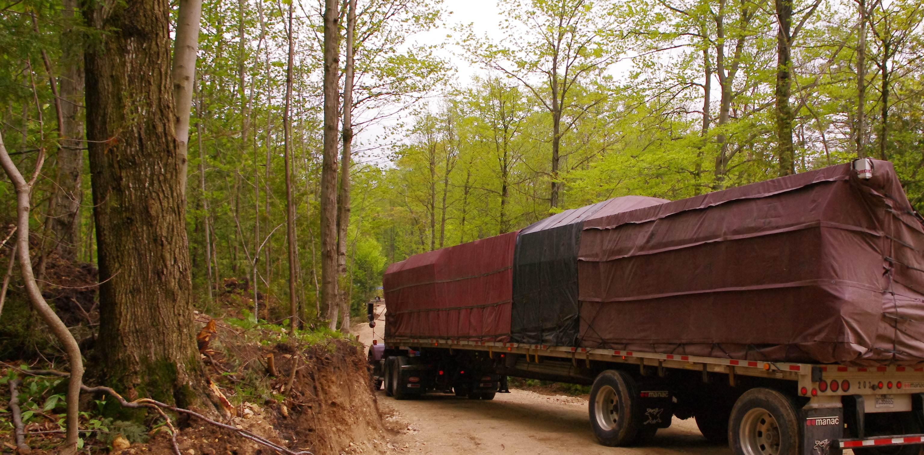 Engineered Home - Timber Block Truck