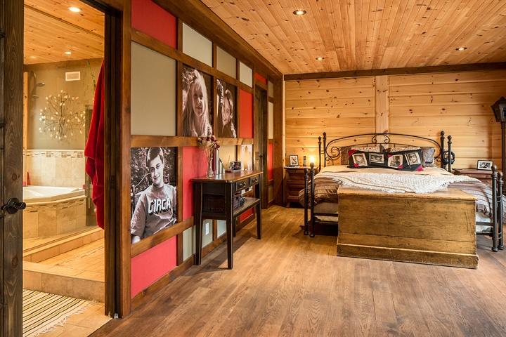 Timber Block bedroom master