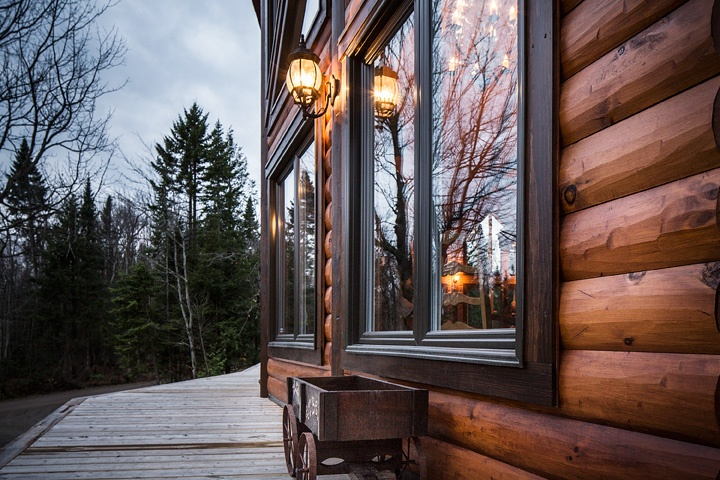 Timber Block Engineered Home - Wall