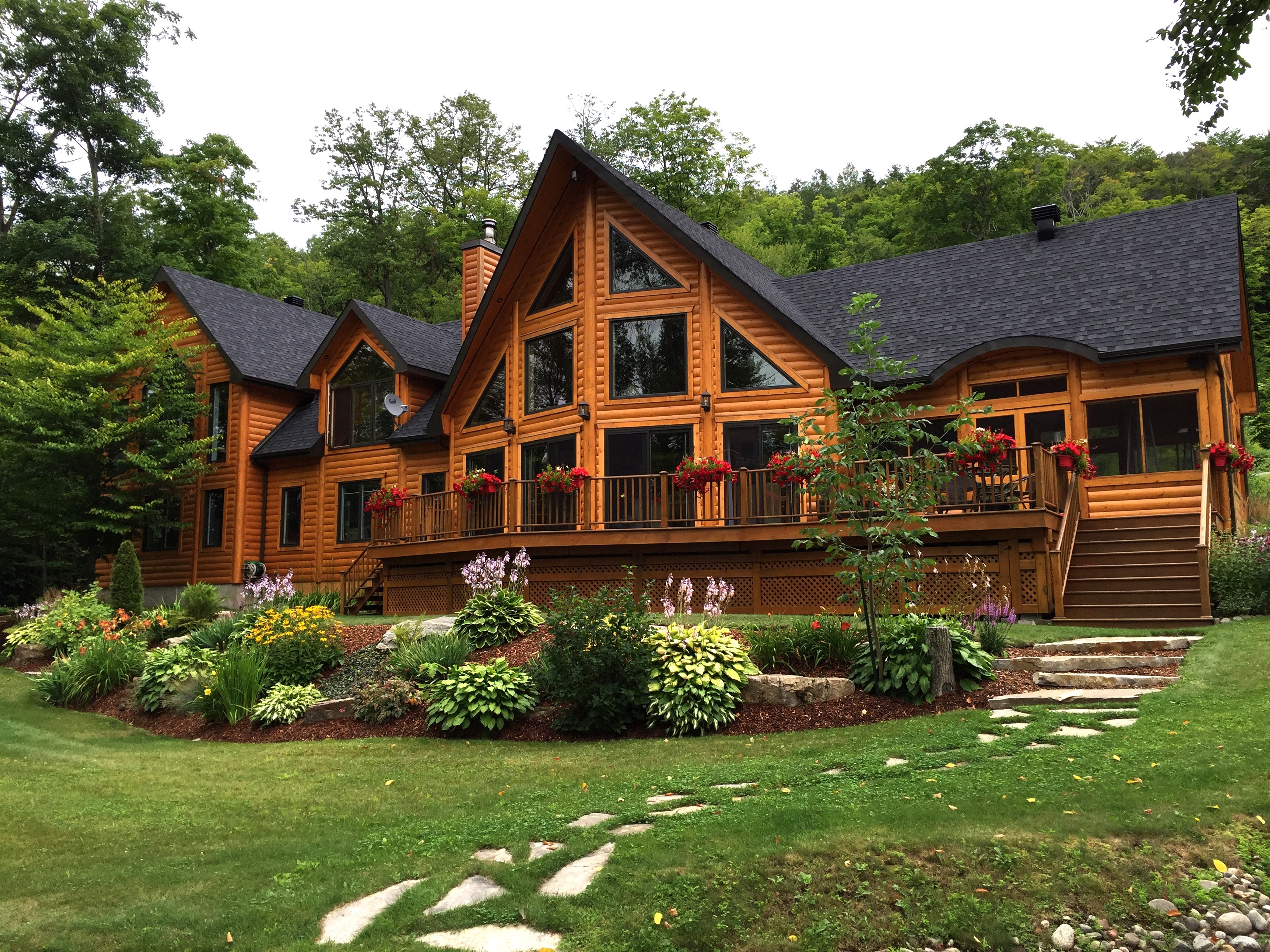 The Timber Block Home Building Process